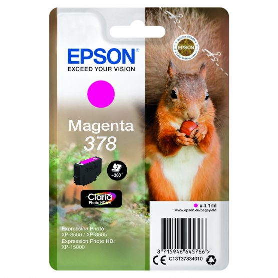 T378 Magenta Ink Cartridge