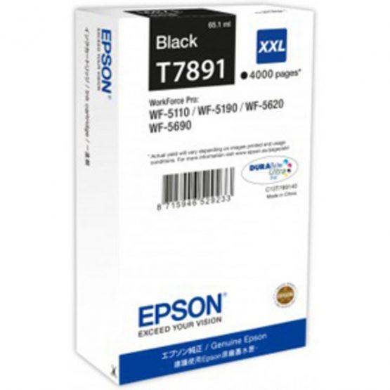 T7891 Black Ink Cartridge XXL