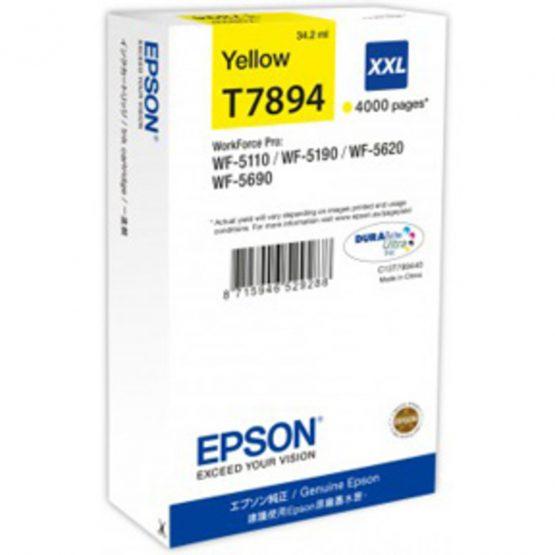 T7894 Yellow Ink Cartridge XXL