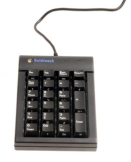 Goldtouch numeric compact keyboard black