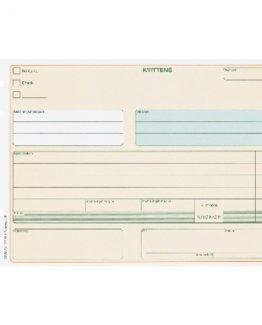 Reciept form A5L 50 pcs