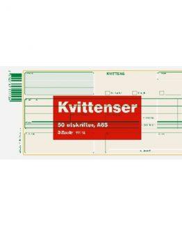 Reciept form A65 (210x105) 50 pcs