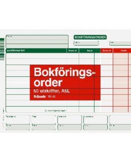 Accounting form A5l 50 pcs