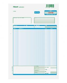 Invoice form set 2/3 A4 3x100 pcs