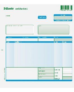 Invoice form set A4 3x100 w/o numbers