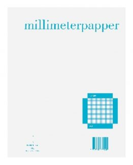 Graph paper A4 1x1 mm 50 sheets