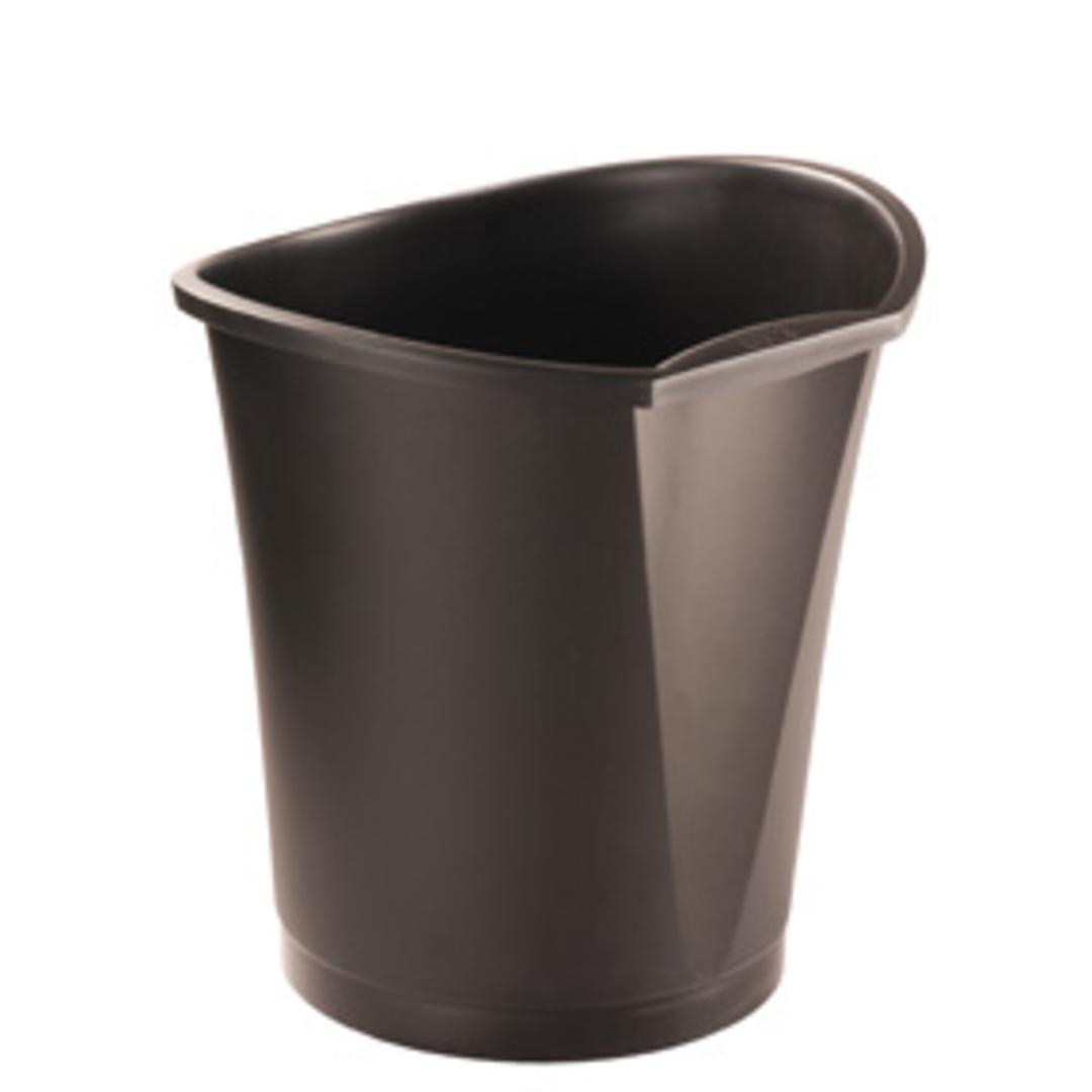Waste bin  Basko 18L black