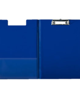 Clipboard with front cover blue