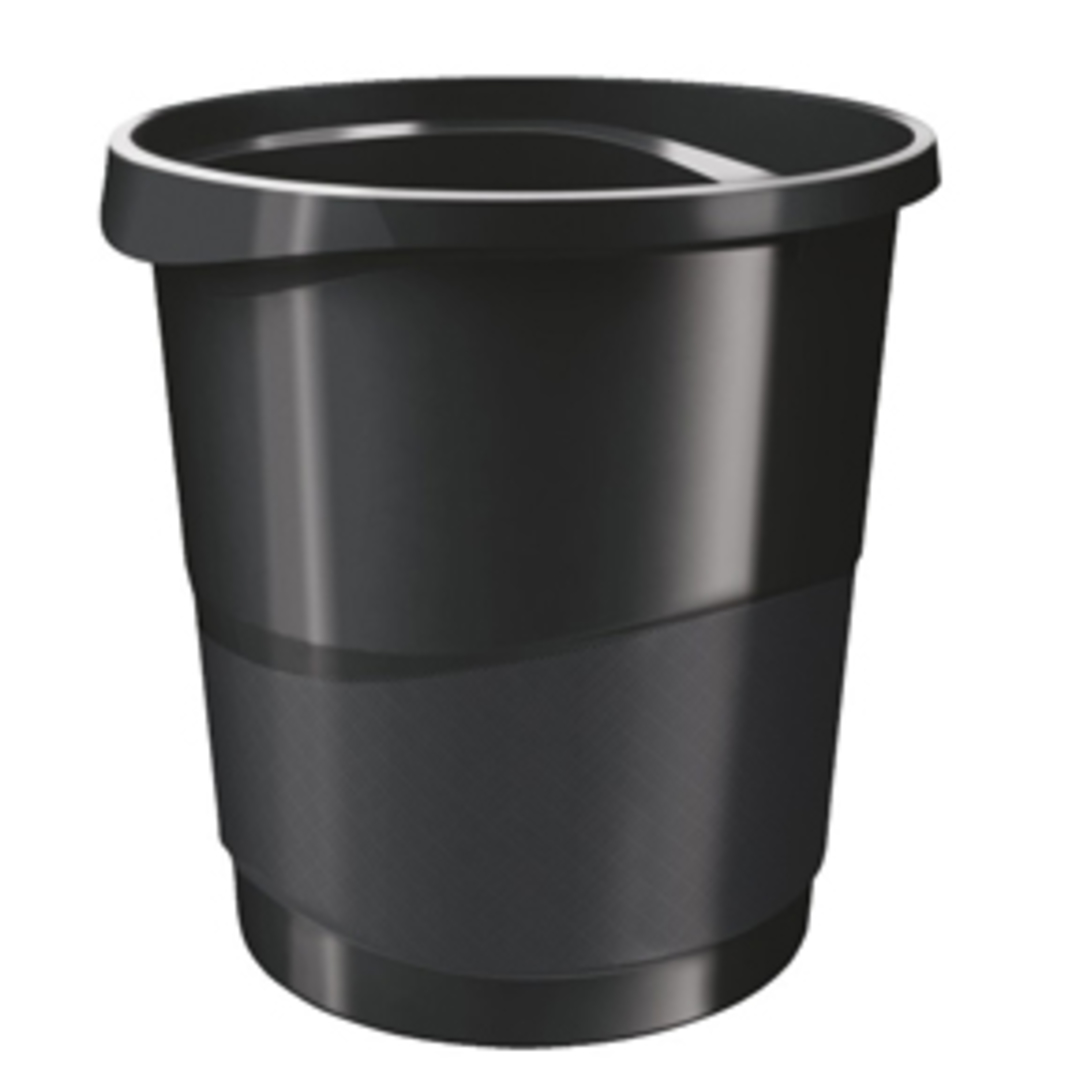 Waste bin Europost Vivida 14L black