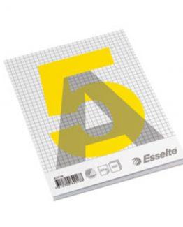 Glued pad A5 60g/100 sheets squared
