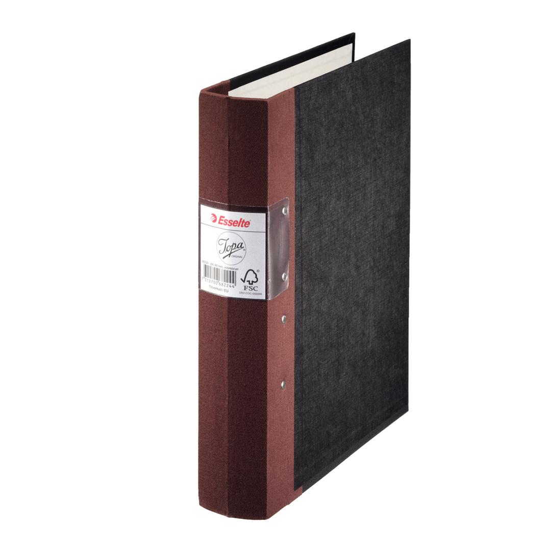Binder Jopa A4/60mm dark brown