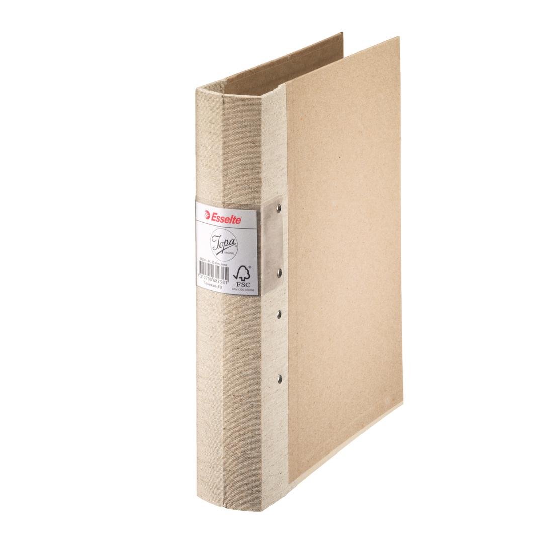 Binder Jopa A4/60mm linen