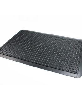 Doortex anti-fatigue rubber mat 61x91 cm black