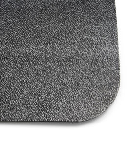 Advantage chair mat PVC 90x120 cm hard floor black