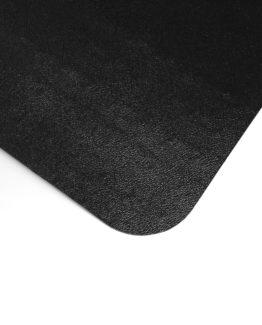Advatange chair mat PVC 120x150 cm hard floor black
