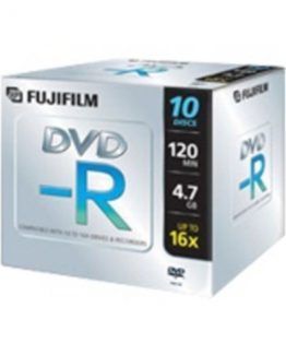DVD-R 4.7 GB16x Jewel Case (10)