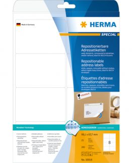 Herma label removable 99,1x67,7 (200)