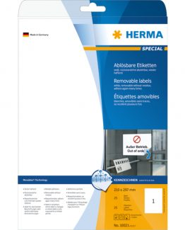 Herma label removable 210x297 (25)