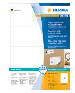 Herma label removable 99,1x67,7 (800)