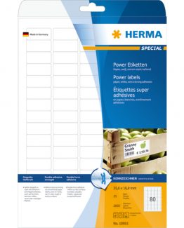 Herma label extremely strong 35,6x16,9 (2000)
