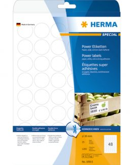 Herma label extremely strong ø30 (1200)