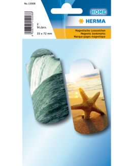 Herma bookmark magnetic vacation (2)