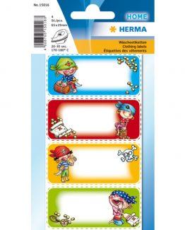 Herma stickerss clothing label pirates