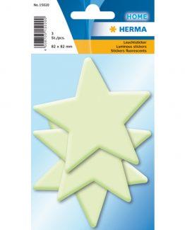 Herma stickers luminous stars (3)