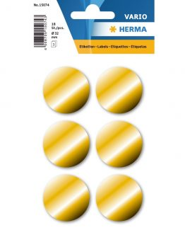 Herma label manuel ø32 gold (100)