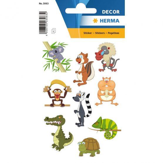 Herma stickers Decor zoo animals (3)