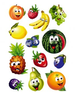 Herma stickers Magic fruits moving eyes (1)