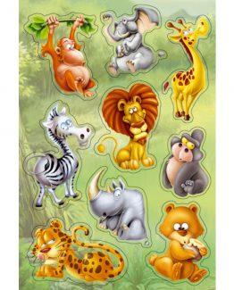 Herma stickers Magic jungle animals (1)