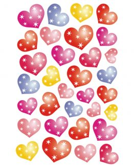 Herma stickers Magic dotted hearts film (1)