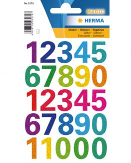 Herma label numbers 0-9 20 high ass colours (1)