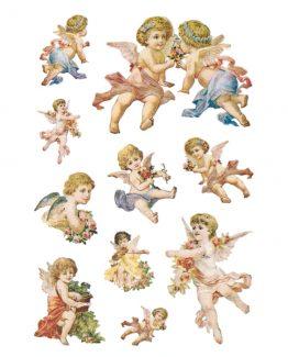 Herma stickers Decor nostalgic angels (2)