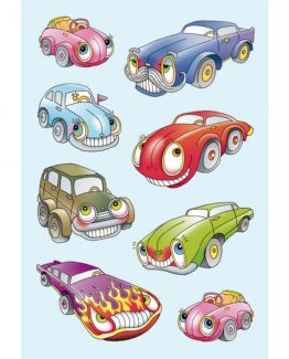 Herma stickers Decor cars w/eys (3)