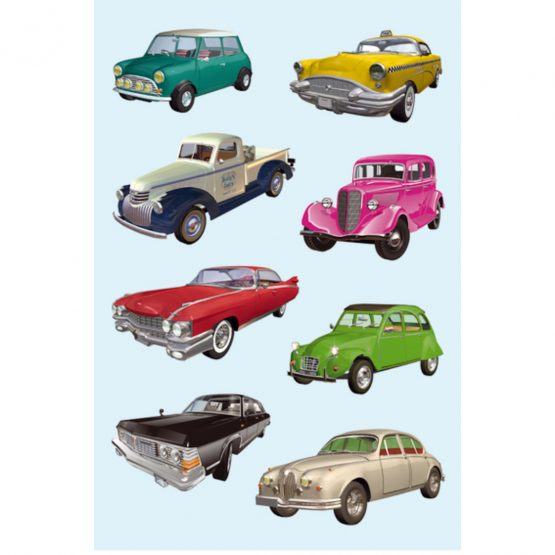 Herma stickers Decor old cars (3)