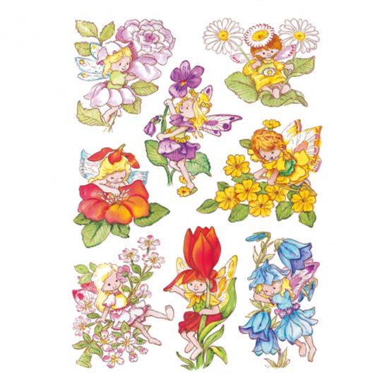 Herma stickers Decor flower elves (3)