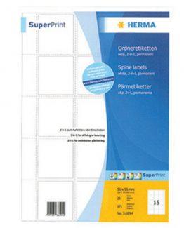 Herma spine label 51x55 (375)