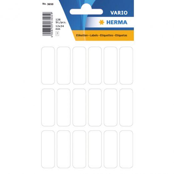 Herma label manual 12x34 white (126)