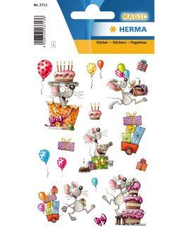 Herma stickers Magic happy birthday mouse (1)