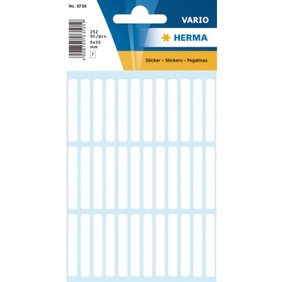 Herma label manual 5x35 white (252)