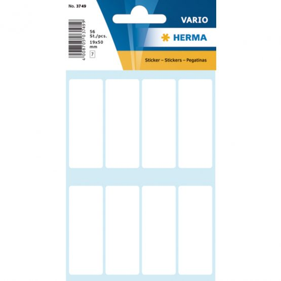 Herma label manual 19x50 white (56)