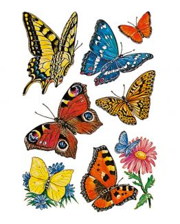 Herma stickers Decor butterflies (3)