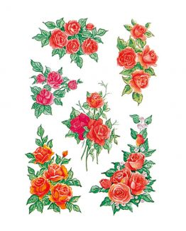 Herma stickers Decor bouquets of roses (3)