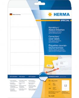 Herma label covering 97x42,3 (300)