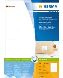 Herma label Premium 199,6x143,5 (200)