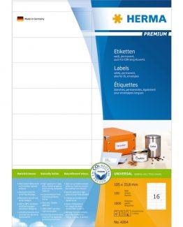 Herma label Premium 105x33,8 (1600)