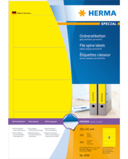 Herma label Special LAF 192x61 yellow (400)