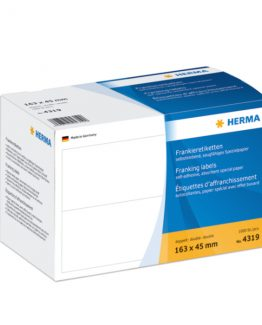 Herma label franking double 163x45 (1000)